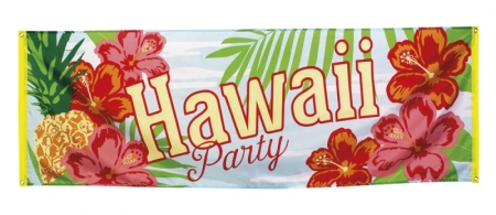BANNER HAWAII PARTY 74 X 220 CM. i gruppen Party / Dekoration hos EKSONS Aktiebolag (1104)