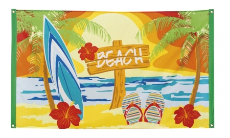 FLAGGA BEACH 90 X 150 CM i gruppen Teman / Hawaii / Dekorationer Hawaii hos EKSONS Aktiebolag (2388)