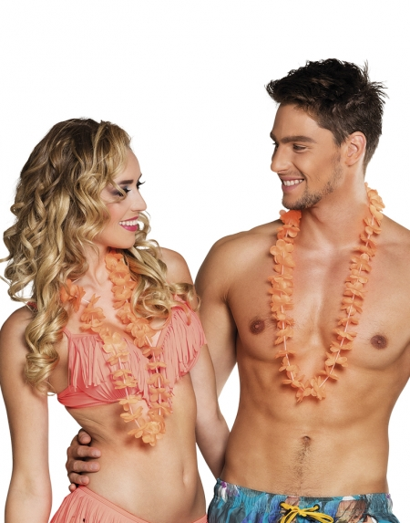 HAWAIIKRANSAR ORANGE 25-PACK i gruppen Teman / Hawaii / Kransar Hawaii hos EKSONS Aktiebolag (4503)