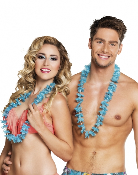 HAWAIIKRANSAR TURKOS 25-PACK i gruppen Teman / Hawaii / Kransar Hawaii hos EKSONS Aktiebolag (4505)