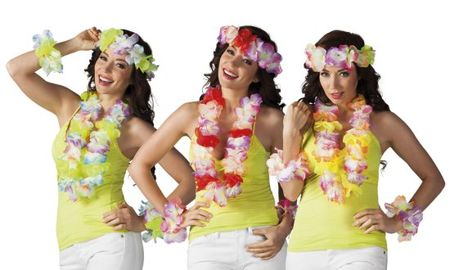 HAWAIISET 4-DEL 12-PACK i gruppen Teman / Hawaii / Kransar Hawaii hos EKSONS Aktiebolag (761)
