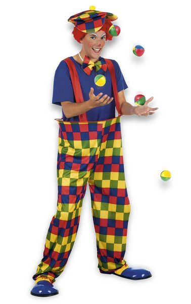 CLOWN-SET M/L i gruppen Teman / Clown hos EKSONS Aktiebolag (83826)
